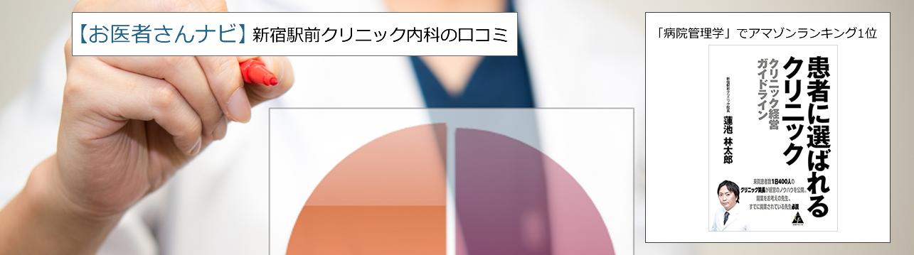 新宿駅前クリニック内科 概要紹介 | 新宿駅前クリニックなどの内科の口コミ【お医者さんナビ】